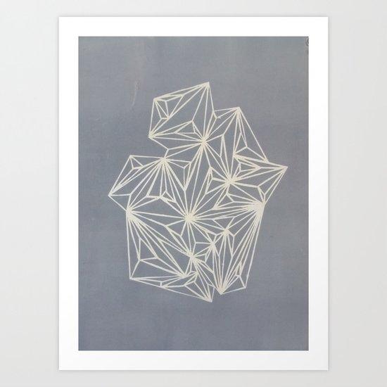 Simply Geometry Art Print