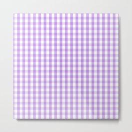 Solid Lilac Color Metal Print