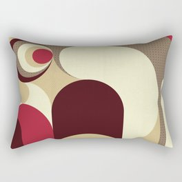 5 Colors Composition (#1) Rectangular Pillow