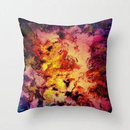 Welcomed heat Throw Pillow
