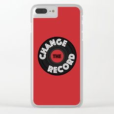 Change the Record Clear iPhone Case