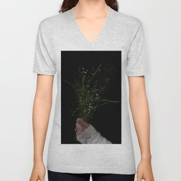 I Brought You Wildflowers But All You Saw Were Weeds Unisex V-Neck
