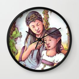 Aredhel and Anarie Wall Clock