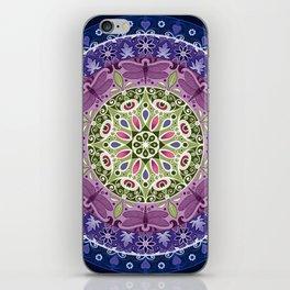 Colourful Dragonfly Mandala iPhone Skin