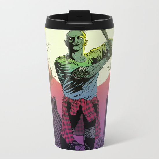NO SURRENDER Metal Travel Mug