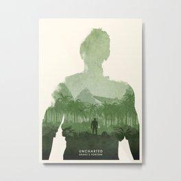 Uncharted 1 Metal Print