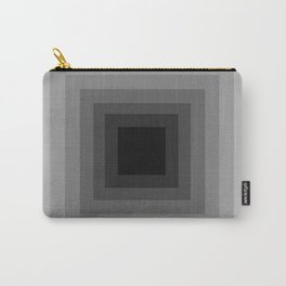 Black Monochrome Carry-All Pouch