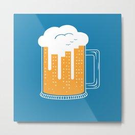 City Beer Metal Print