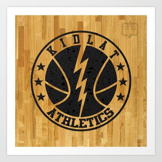 Kidlat Athletics Art Print