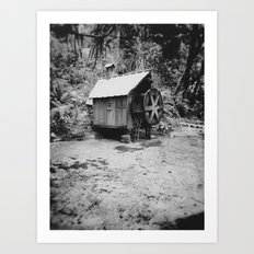 Water Wheel #2 Art Print