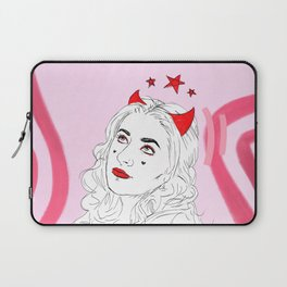 Devil With Rose Laptop Sleeve