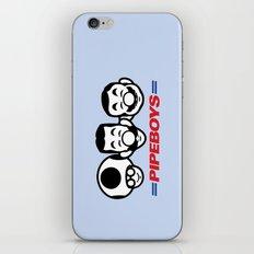 Pipe Boys iPhone & iPod Skin