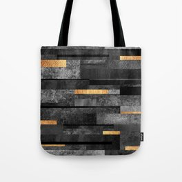 Urban Black & Gold Tote Bag