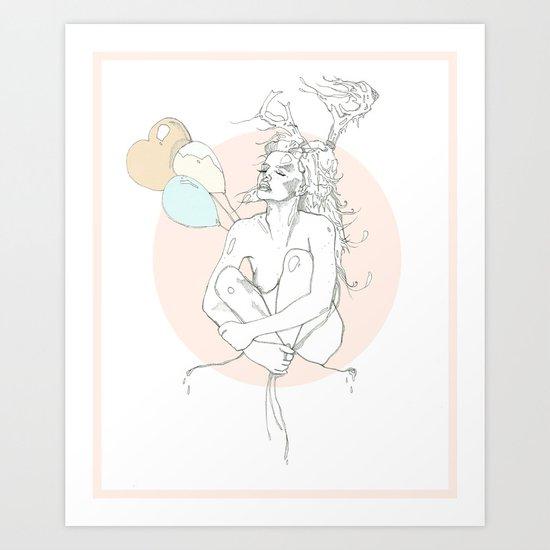 milk toast Art Print