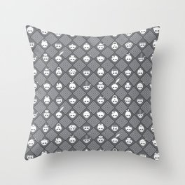 The Nik-Nak Bros. Saturation Drain Throw Pillow