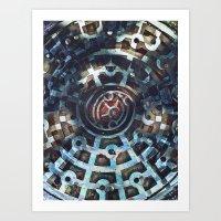 manhole Art Print