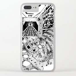 Artist Paradise Clear iPhone Case