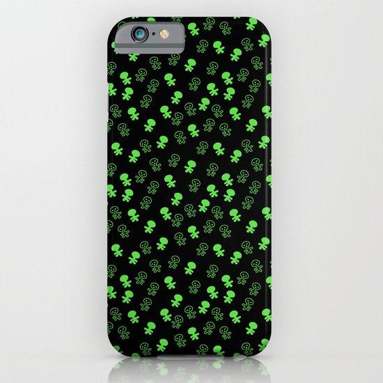 Aliens-Green iPhone & iPod Case