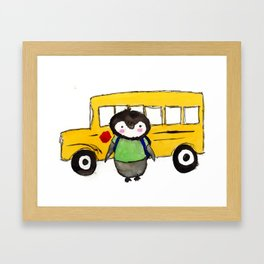 School Kip Framed Art Print