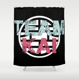 Team Kai Shower Curtain
