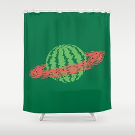 WATERSATURN Shower Curtain
