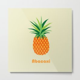 AFE Pineapple Metal Print