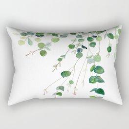 Eucalyptus Watercolor Rectangular Pillow