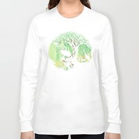 king Long Sleeve T-shirts featuring The jungle says hello by Picomodi