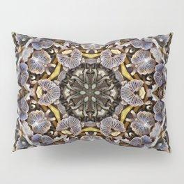 Mushroom Mandala Pillow Sham