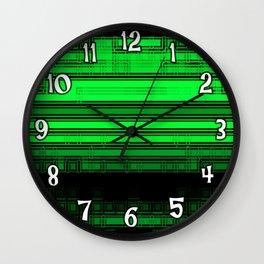 The Green Zone Wall Clock