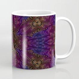 Orange Pink and Purple Kaleidosocope Coffee Mug