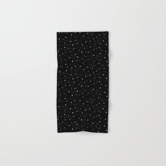 Constellations (Black) Hand & Bath Towel