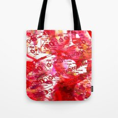 Forget It < The NO Series (Red) Tote Bag
