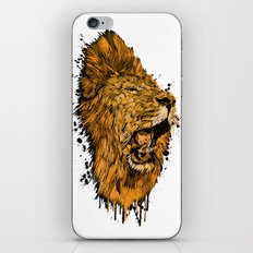 Golden Lion iPhone & iPod Skin