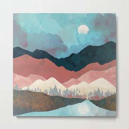 Fall Transition Metal Print