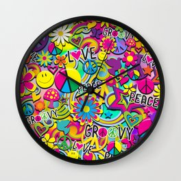 Groovy Fun Wall Clock