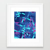 pocahontas Framed Art Prints featuring Pocahontas by Sammy Cee