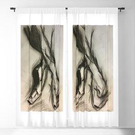 Ballet je t'aime Blackout Curtain
