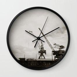 { dancing cranes } Wall Clock