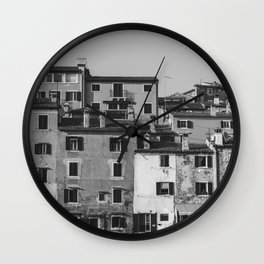 Old architecture Wall Clock