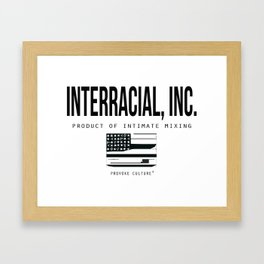 Interacial Inc. Framed Art Print
