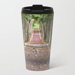 wood le chemin Travel Mug