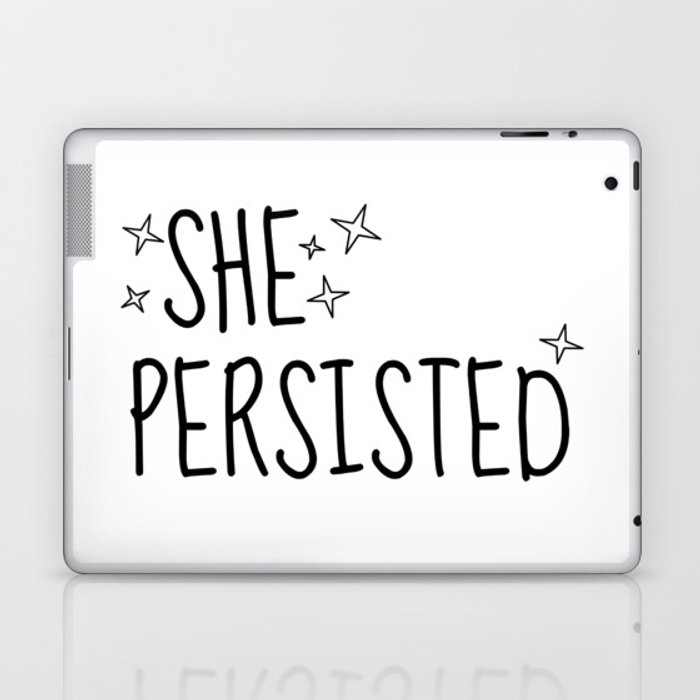 SHE PERSISTED Laptop & iPad Skin