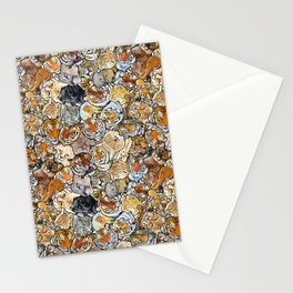 Big Cat Collage Stationery Cards