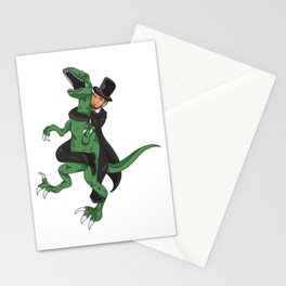 Lincoln jiu jitsu Stationery Cards
