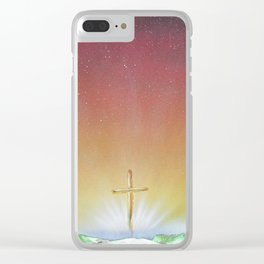 He Is Risen Clear iPhone Case