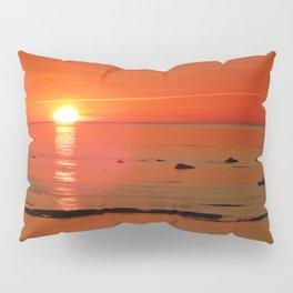 Kayaker and the Setting Sun Pillow Sham