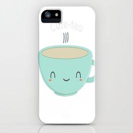 Cute Tea Pun iPhone Case