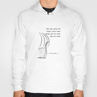 vikings Hoodies featuring This will never end, Vikings by ZsaMo Design