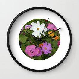 flower garden II Wall Clock